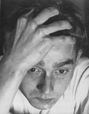 Fritz Kühn, Arbeitslos, Selbstportrait, 1932