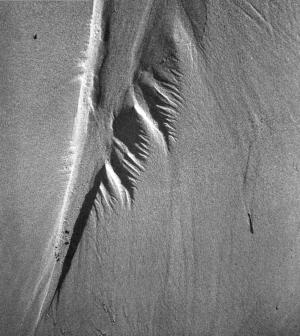 Fritz Kühn, Spuren im Sand, um 1957