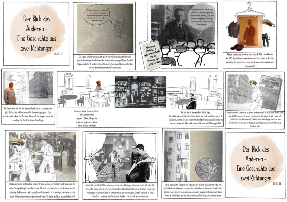 Comic_Jona Schapira, Tabea Georges_Blick der Anderen